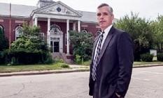 Tom Frain stands in front of the Fernald Developmental Center